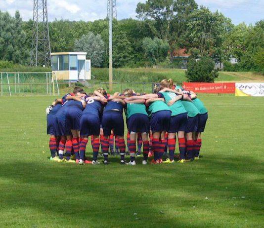Vor dem Pokalfinale 2015 (Foto: Hannes Blank)