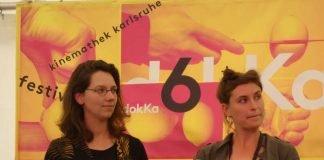 """Trial and Error""-Kamerafrau Sophia Schiller und Regisseurin Marie Falke (Foto: Hannes Blank)"