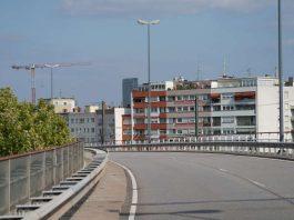 Ludwigshafen Hochstraße Süd Sperrung (Foto: Holger Knecht)