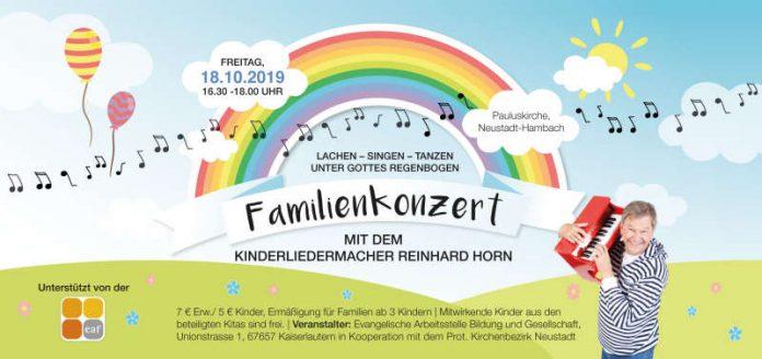 Kinder-Mitmachkonzert mit Reinhard Horn