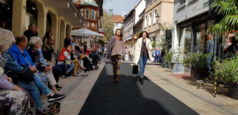 Mode-Event in Neustadt an der Weinstraße (Foto: WEG Neustadt)