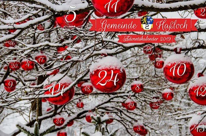 Online-Adventskalender (Quelle: Gemeindeverwaltung Haßloch)
