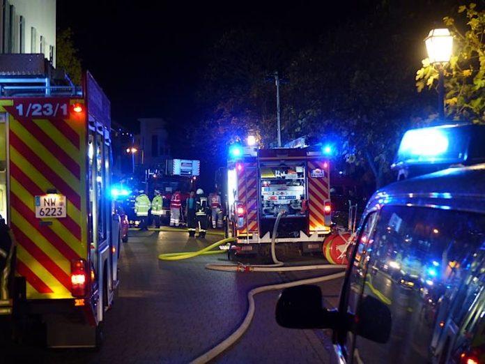Feuerwehreinsatz auf der Haardt (Foto: Feuerwehr Neustadt)