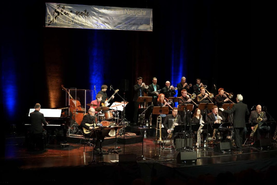 Blue note BIG BAND beim Jazz an Neujahr 2019 (Foto: Holger Knecht)