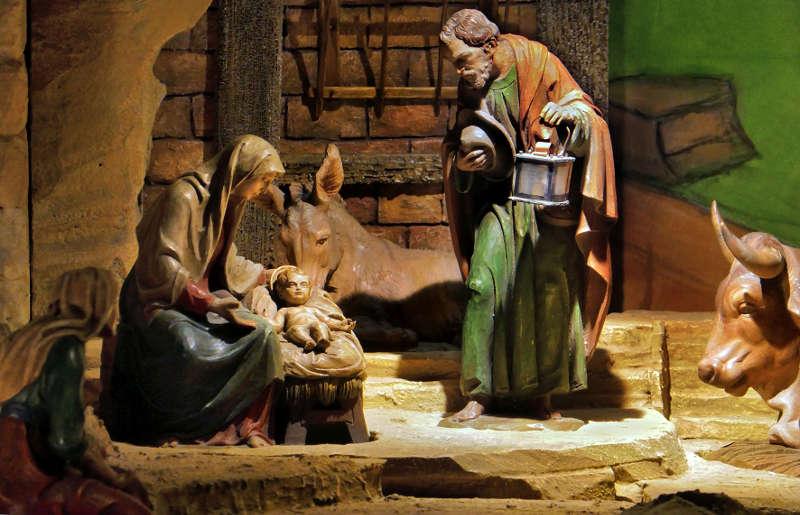 Krippe im Dom zu Speyer (Quelle: Domkapitel Speyer / Foto: Christoph Kohl)