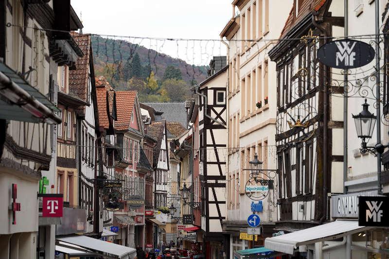 Blick auf die Hauptstraße in Neustadt an der Weinstraße (Foto: Holger Knecht)