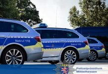 Symbolbild, Polizei Mittelhessen © Polizeipräsidium Mittelhessen