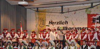 Seniorensitzung der Karnevalsgesellschaft der Polizei und den Kurpfälzer Trabanten (Foto: LT)