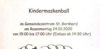 Kindermaskenball in Branchweiler