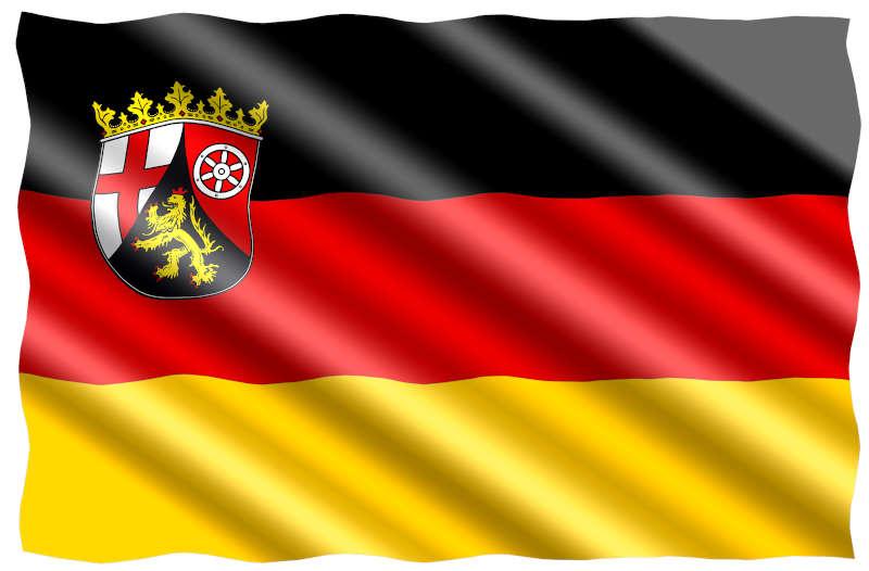 Symbolbild Flagge Rheinland-Pfalz (Foto: Pixabay/jorono)