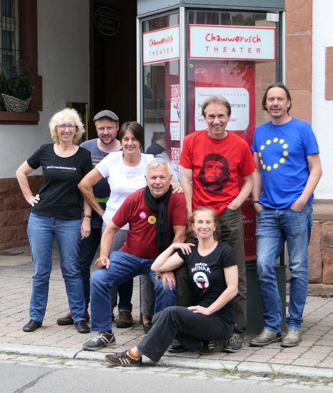 Das Chawwerusch-Ensemble (Foto: Helmut Dudenhöffer)