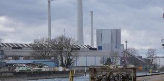Unternehmen im Karlsruher Rheinhafen (Foto: Hannes Blank)