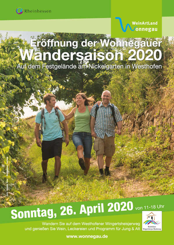 Saisoneröffnung 2020 - Plakat