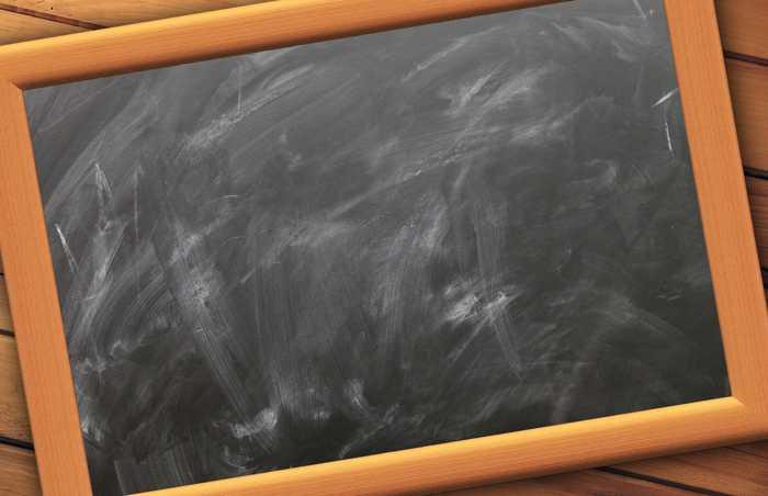 Symbolbild, Schule, Schiefertafel, Meldungen © Gerd Altmann on Pixabay