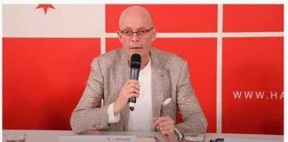 Screenshot Youtube-Präsenz Stadt Halle - Pressekonferenz OB Dr. Wiegand