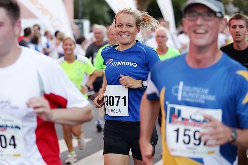 Mainova-Team-Kapitänin und Mitglied der Mainova Energie Akademie Daniela Bleymehl (Quelle: Mainova AG)