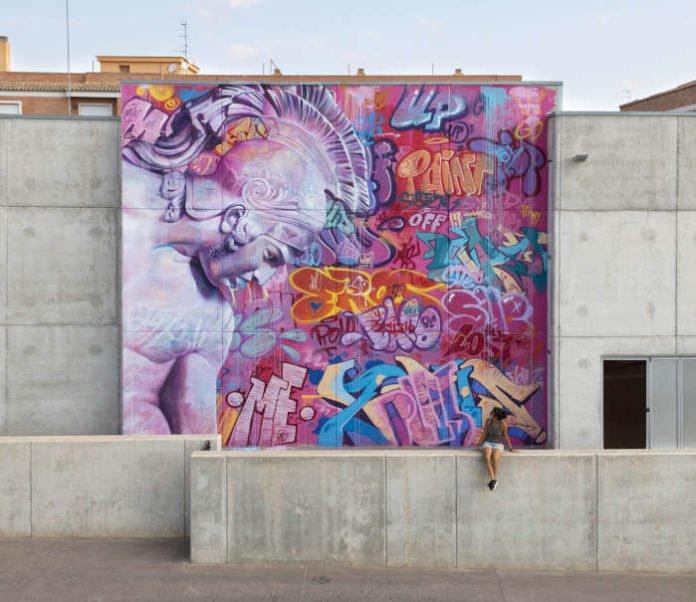 Wandgemälde in Valencia, Spanien (Bild: PichiAvo)