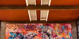 Wandbild des Künstlerduos PichiAvo (Foto: Metropolink)