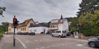 Die neue Ampelanlage (Foto: Stadtverwaltung Neustadt)