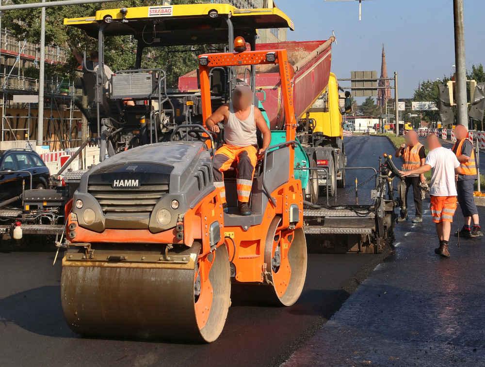 In den Ferien stehen Asphaltarbeiten an (Foto: Stadt Karlsruhe)