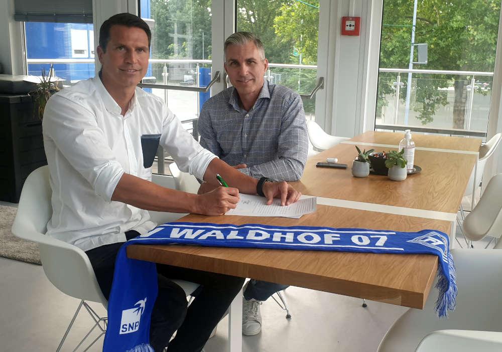 Patrick Glöckner und Jochen Kientz (Foto: SVW Mannheim)