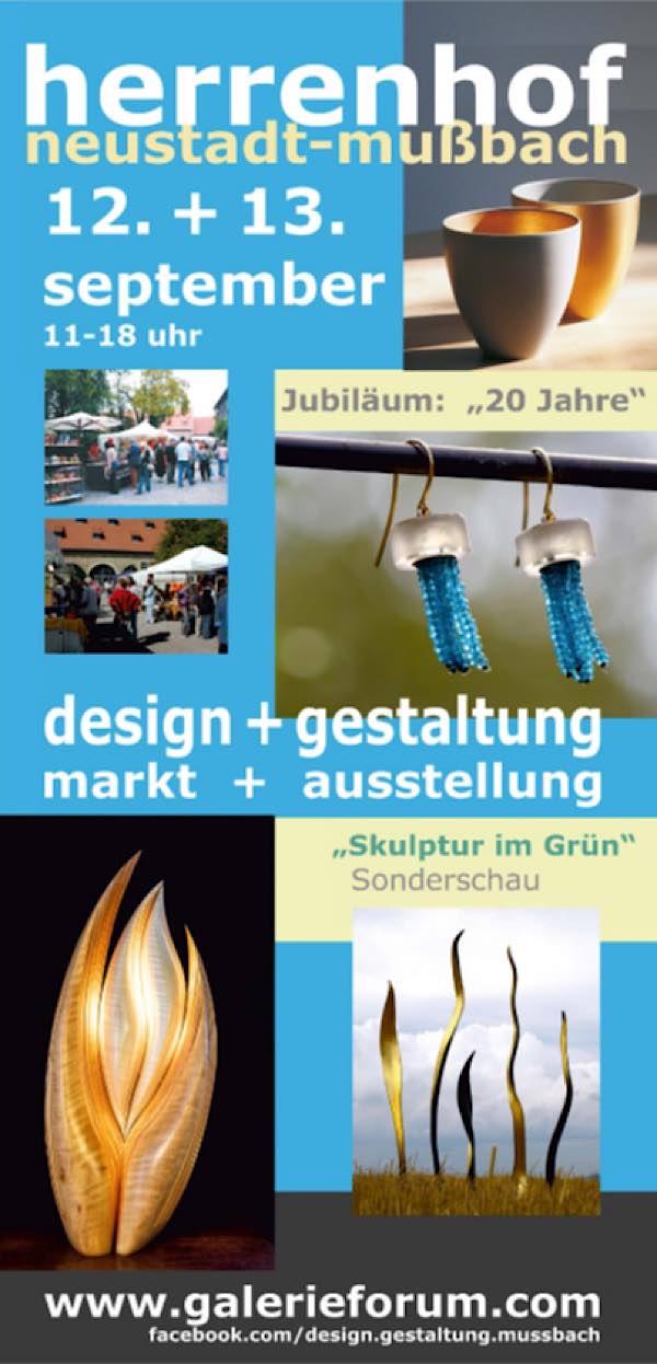 Kunsthandwerkermarkt design + gestaltung