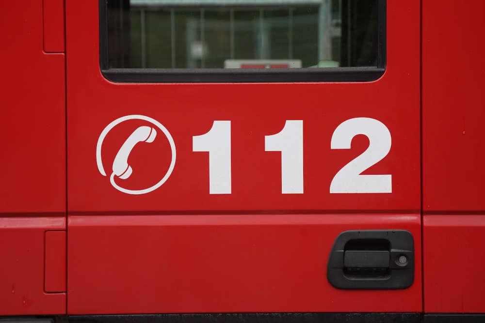 Symbolbild Feuerwehr Notruf 112 (Foto: Holger Knecht)