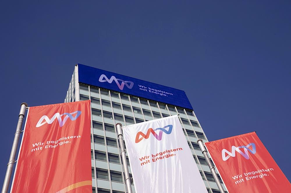 Die Konzernzentrale sitzt im markanten MVV-Hochhaus in Mannheim. (Foto: MVV-Pressebild)