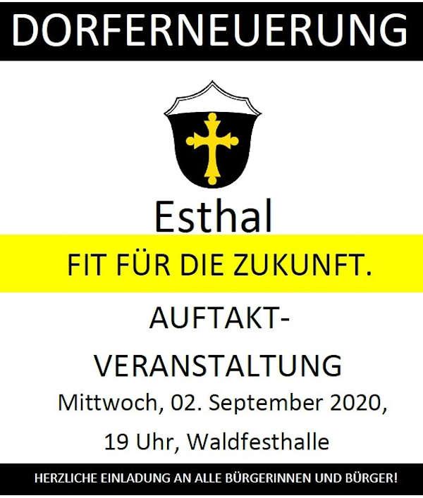Dorfmoderation Esthal