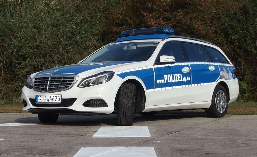 Funkstreifenwagen der Autobahnpolizei (Foto: Polizei RLP)