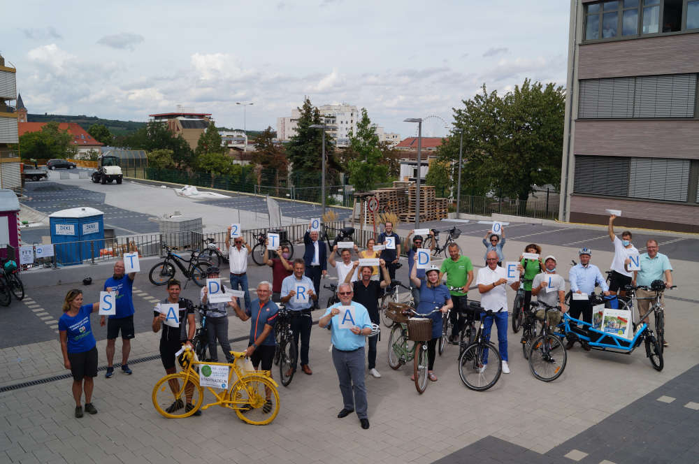 Auftakt Stadtradeln (Foto: Kreisverwaltung Bad Dürkheim)