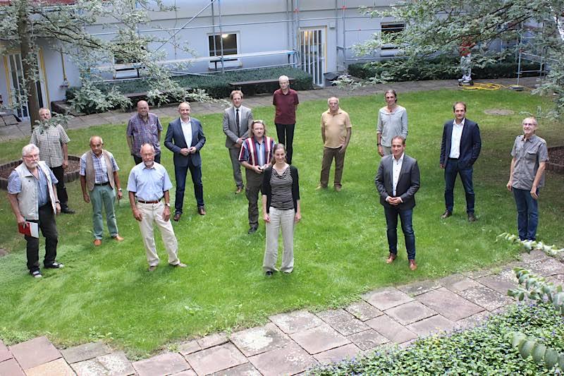 Die Mitglieder des Naturschutzbeirats (Foto: SGD Süd)