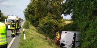 Das Unfallfahrzeug (Foto: Polizei RLP)