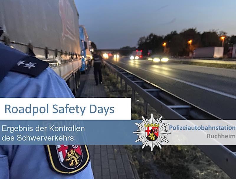 Roadpol Safety Days (Foto: Polizei RLP)