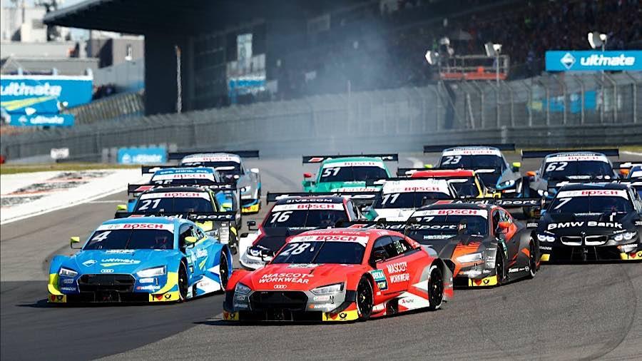 Ein Klassiker: Die DTM auf dem Nürburgring (Archiv 2019) (Foto: DTM)