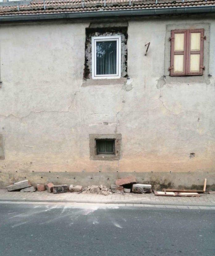 Die Einsatzstelle (Foto: Presseteam der Feuerwehr VG Lambrecht)