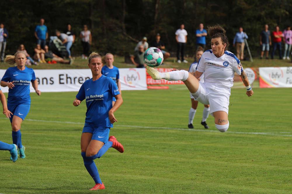 Führungstreffer 0:1 durch Debora Vinci (Karlsruher SC) (Foto: bfv)