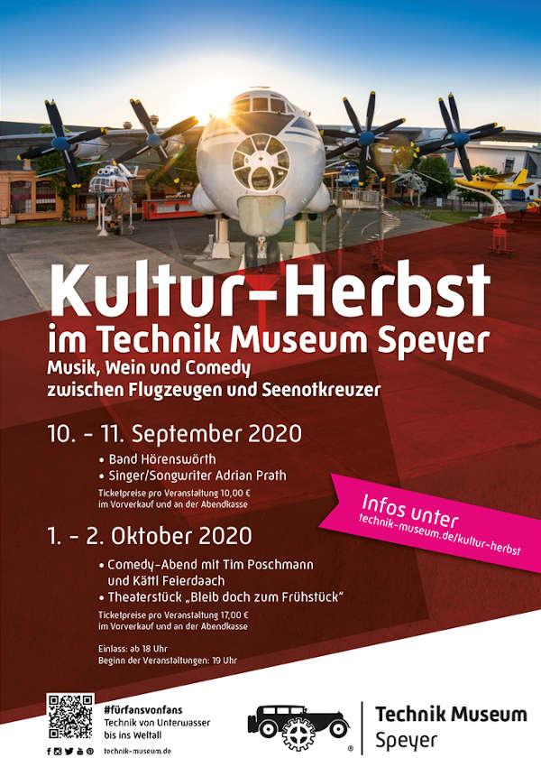 Kultur-Herbst (Foto: Technik Museum Speyer)