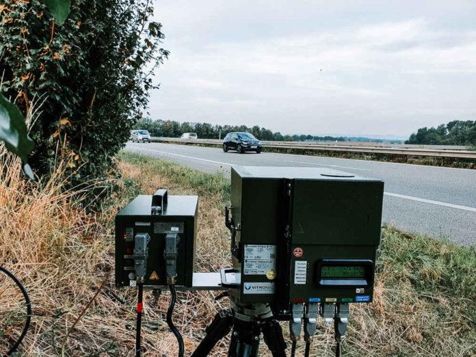 Radarkontrolle (Foto: Polizei RLP)