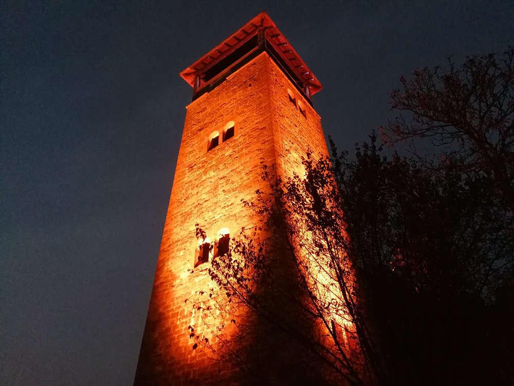 Ohrsbergturm-Laterne (Foto: Hubert Richter)