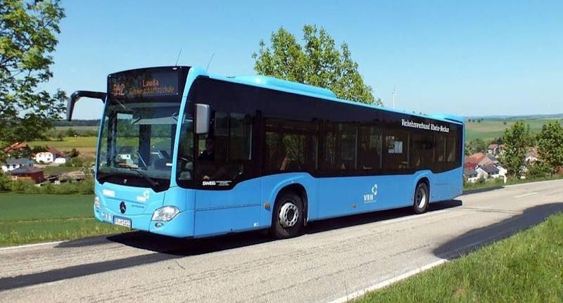 Blauer VRN-Bus (Foto: VRN)