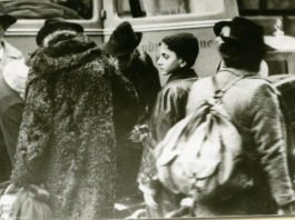 Verschleppt: jüdische Männer, Frauen und Kinder beim Abtransport nach Gurs (Foto: Stadtarchiv Ludwigshafen)