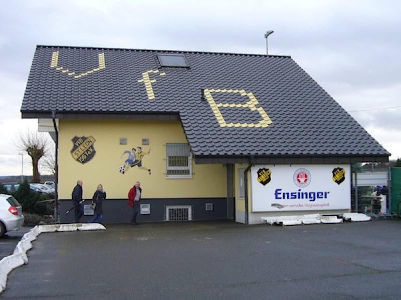 Vereinsheim des VfB St.Leon-Rot (Foto: Hannes Blank)