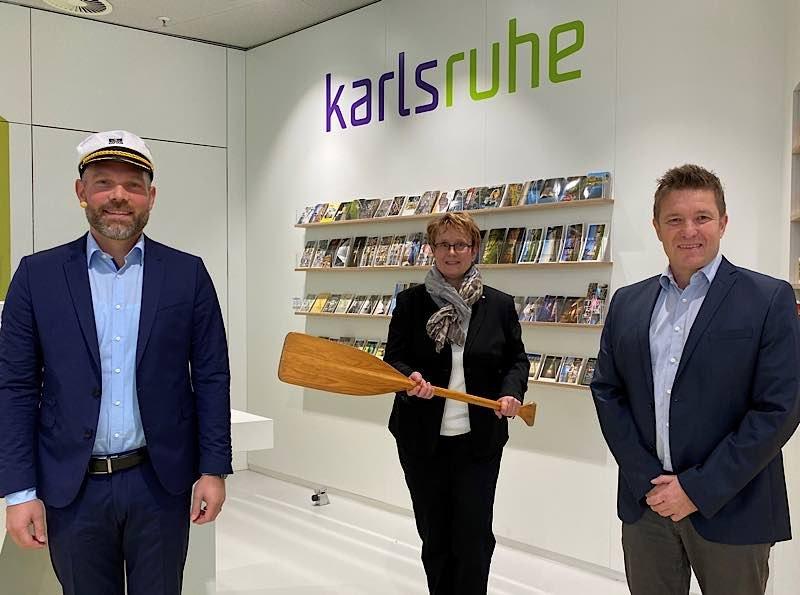 André Lomsky übernimmt das Ruder der KTG Karlsruhe Tourismus GmbH (Foto: KTG)