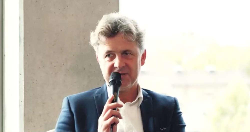 Oberbürgermeister Dr. Frank Mentrup im Talk (Quelle: TRK GmbH)