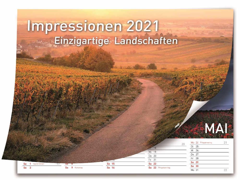Titelbild des Bildkalenders