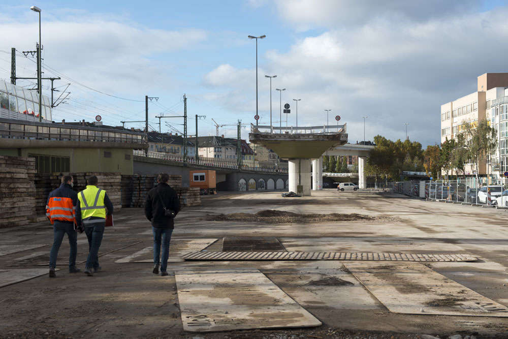 Baustellenabnahme am 27.10.2020 (Foto: Stadt Ludwigshafen)