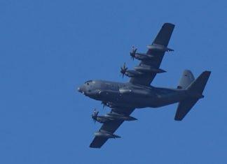 Symbolbild Transportflugzeug Militärflugzeug US-AirForce (Foto: Holger Knecht)