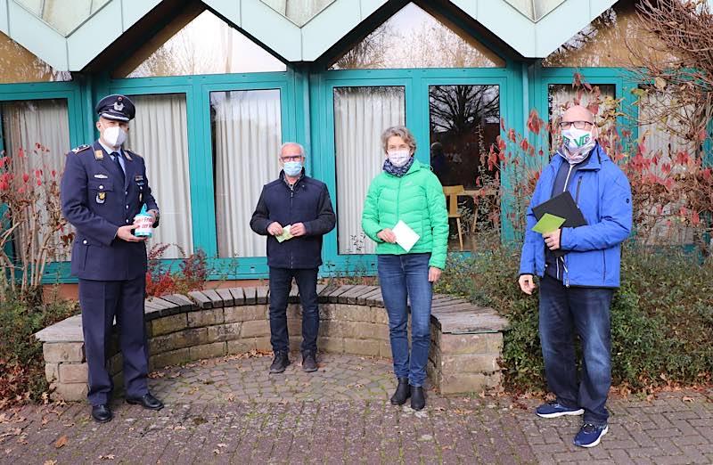 Die Patengemeinde der 2. Kompanie, die Gemeinde Westheim empfängt die Sammelnden mit großer Freude und äußerst großzügig. (Foto: Bundeswehr)