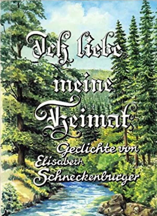 """Buch """"Ich liebe meine Heimat"""" von Elisabeth Schneckenburger (Foto: Stadtbücherei Lambrecht)"""